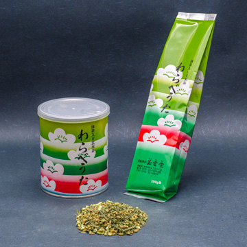抹茶入り玄米茶【わらべうた】